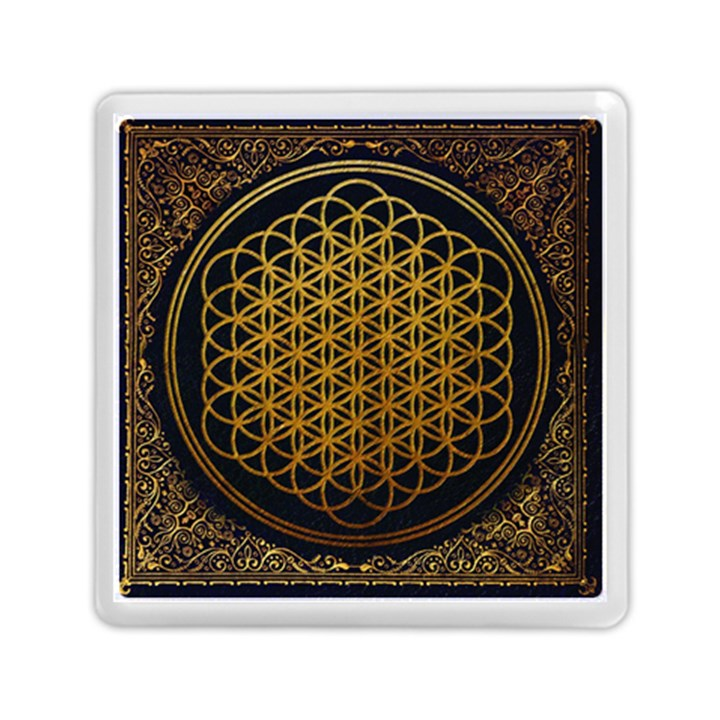 Bring Me The Horizon Cover Album Gold Memory Card Reader (Square)