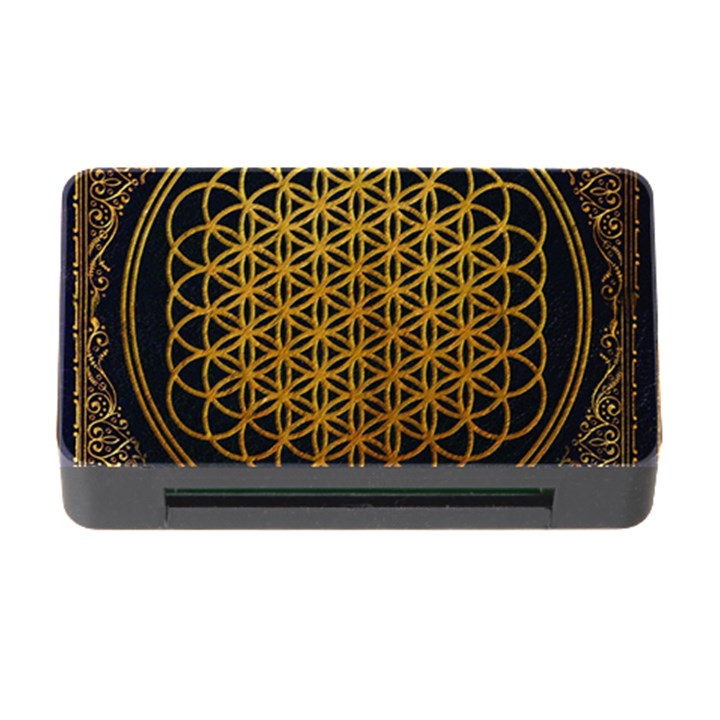 Bring Me The Horizon Cover Album Gold Memory Card Reader with CF