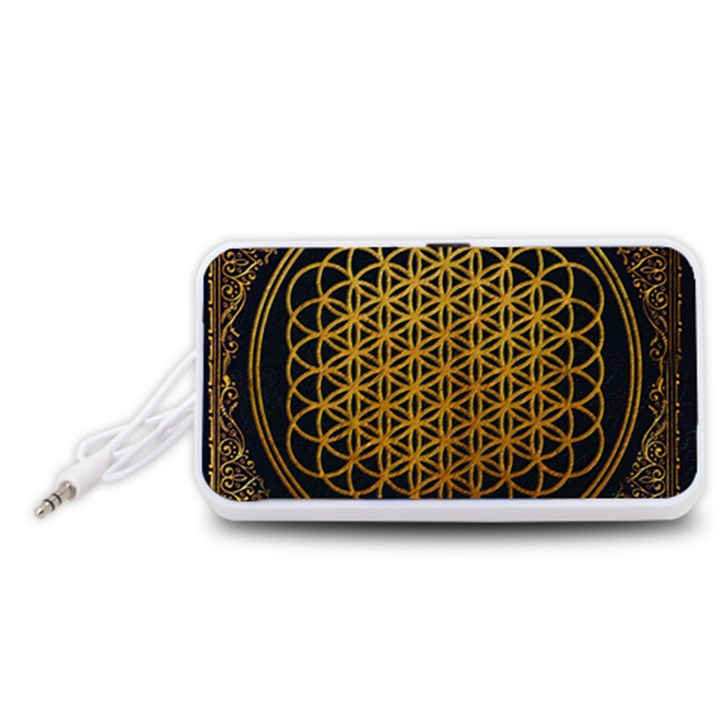 Bring Me The Horizon Cover Album Gold Portable Speaker (White)