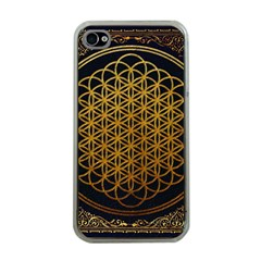Bring Me The Horizon Cover Album Gold Apple Iphone 4 Case (clear)