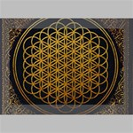 Bring Me The Horizon Cover Album Gold Deluxe Canvas 18  x 12   18  x 12  x 1.5  Stretched Canvas