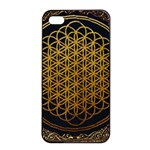 Bring Me The Horizon Cover Album Gold Apple iPhone 4/4s Seamless Case (Black) Front