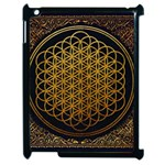 Bring Me The Horizon Cover Album Gold Apple iPad 2 Case (Black) Front