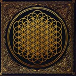 Bring Me The Horizon Cover Album Gold MOM 3D Greeting Card (8x4) Inside