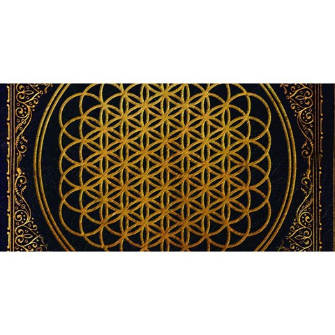 Bring Me The Horizon Cover Album Gold YOU ARE INVITED 3D Greeting Card (8x4)