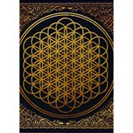 Bring Me The Horizon Cover Album Gold Circle Bottom 3D Greeting Card (7x5) Inside