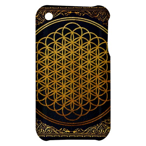 Bring Me The Horizon Cover Album Gold Apple iPhone 3G/3GS Hardshell Case