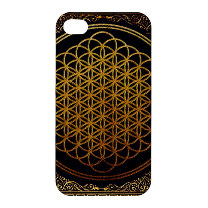 Bring Me The Horizon Cover Album Gold Apple iPhone 4/4S Hardshell Case