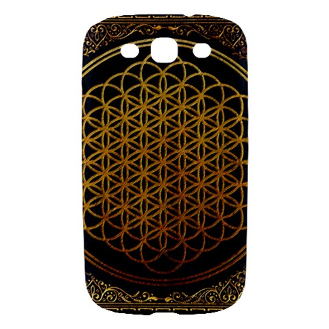 Bring Me The Horizon Cover Album Gold Samsung Galaxy S III Hardshell Case