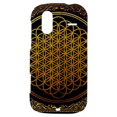 Bring Me The Horizon Cover Album Gold HTC Amaze 4G Hardshell Case
