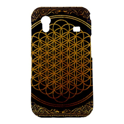 Bring Me The Horizon Cover Album Gold Samsung Galaxy Ace S5830 Hardshell Case