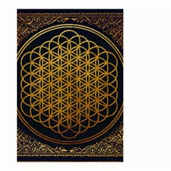 Bring Me The Horizon Cover Album Gold Small Garden Flag (two Sides)
