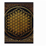 Bring Me The Horizon Cover Album Gold Large Garden Flag (Two Sides) Back