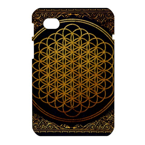 Bring Me The Horizon Cover Album Gold Samsung Galaxy Tab 7  P1000 Hardshell Case