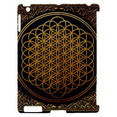 Bring Me The Horizon Cover Album Gold Apple iPad 2 Hardshell Case (Compatible with Smart Cover)