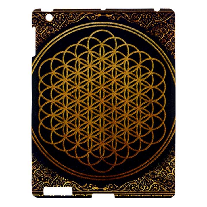 Bring Me The Horizon Cover Album Gold Apple iPad 3/4 Hardshell Case
