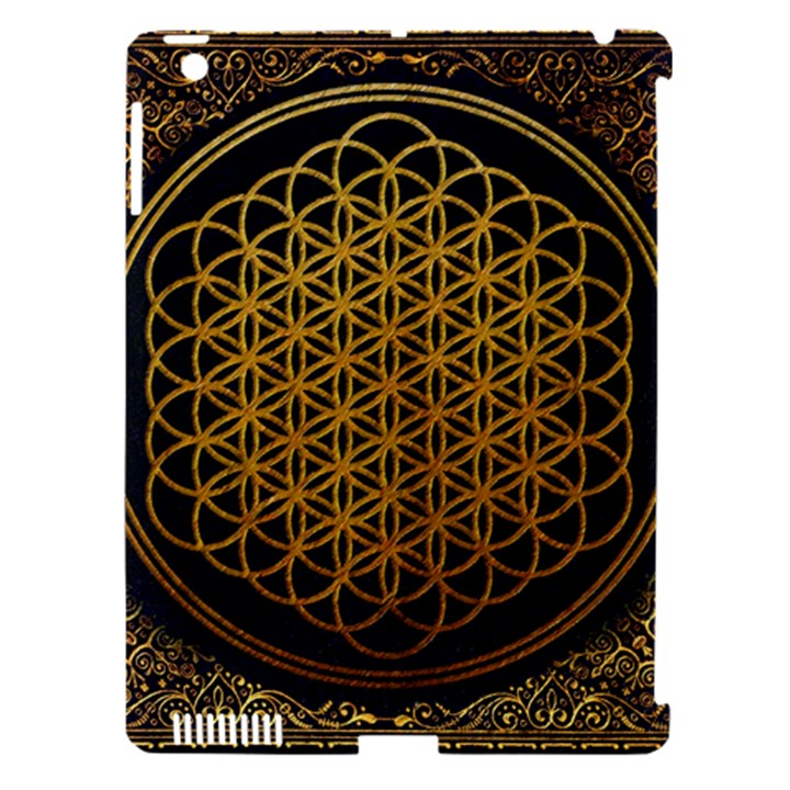 Bring Me The Horizon Cover Album Gold Apple iPad 3/4 Hardshell Case (Compatible with Smart Cover)