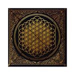 Bring Me The Horizon Cover Album Gold Acrylic Tangram Puzzle (6  x 6 ) Front