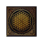 Bring Me The Horizon Cover Album Gold Acrylic Tangram Puzzle (4  x 4 ) Front