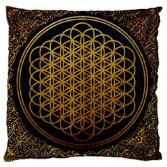 Bring Me The Horizon Cover Album Gold Large Cushion Case (one Side)