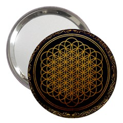 Bring Me The Horizon Cover Album Gold 3  Handbag Mirrors
