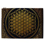 Bring Me The Horizon Cover Album Gold Cosmetic Bag (XXL)  Front