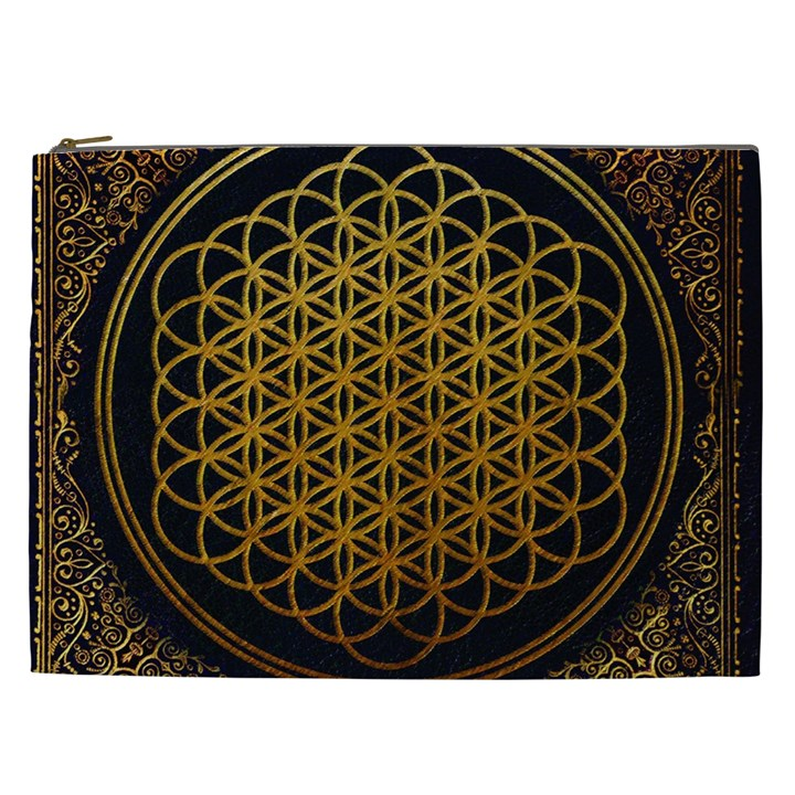 Bring Me The Horizon Cover Album Gold Cosmetic Bag (XXL)