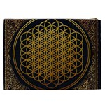 Bring Me The Horizon Cover Album Gold Cosmetic Bag (XXL)  Back