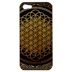 Bring Me The Horizon Cover Album Gold Apple iPhone 5 Hardshell Case