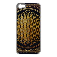 Bring Me The Horizon Cover Album Gold Apple iPhone 5 Case (Silver)