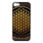 Bring Me The Horizon Cover Album Gold Apple iPhone 5 Case (Silver) Front