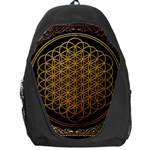 Bring Me The Horizon Cover Album Gold Backpack Bag Front
