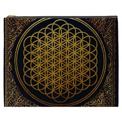 Bring Me The Horizon Cover Album Gold Cosmetic Bag (xxxl)