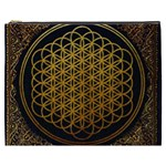 Bring Me The Horizon Cover Album Gold Cosmetic Bag (XXXL)  Front