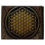 Bring Me The Horizon Cover Album Gold Cosmetic Bag (XXXL)  Back