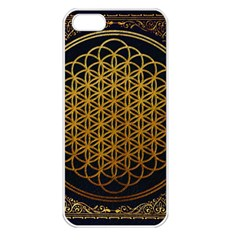 Bring Me The Horizon Cover Album Gold Apple Iphone 5 Seamless Case (white)
