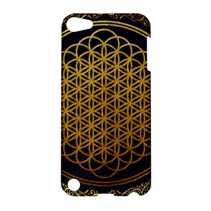 Bring Me The Horizon Cover Album Gold Apple iPod Touch 5 Hardshell Case