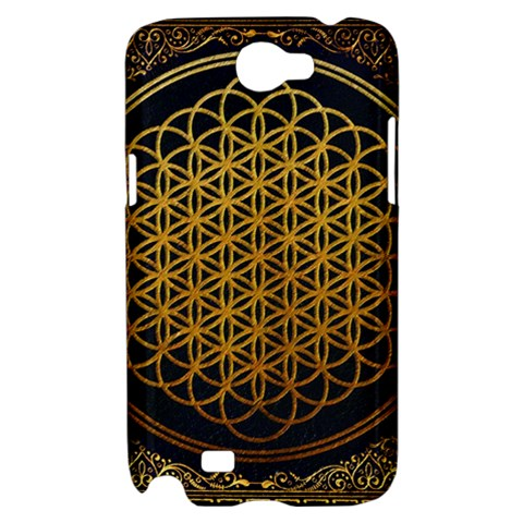 Bring Me The Horizon Cover Album Gold Samsung Galaxy Note 2 Hardshell Case