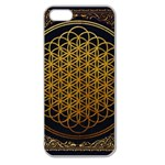 Bring Me The Horizon Cover Album Gold Apple Seamless iPhone 5 Case (Clear) Front