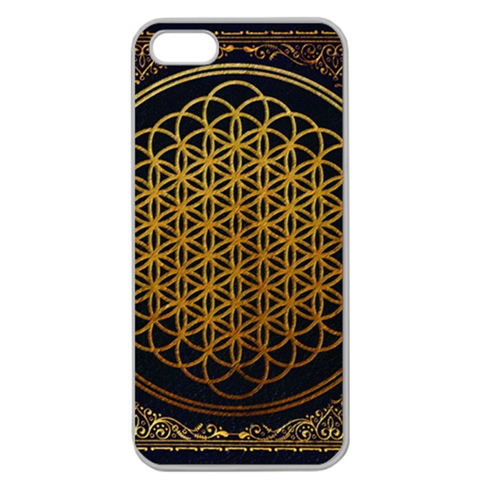 Bring Me The Horizon Cover Album Gold Apple Seamless iPhone 5 Case (Clear)