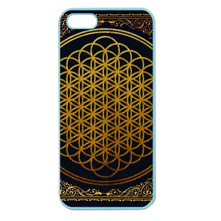 Bring Me The Horizon Cover Album Gold Apple Seamless iPhone 5 Case (Color)