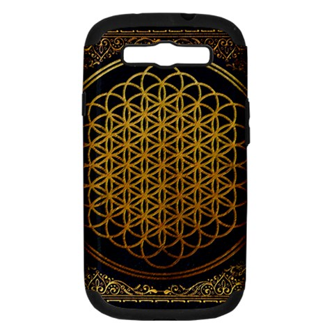 Bring Me The Horizon Cover Album Gold Samsung Galaxy S III Hardshell Case (PC+Silicone)