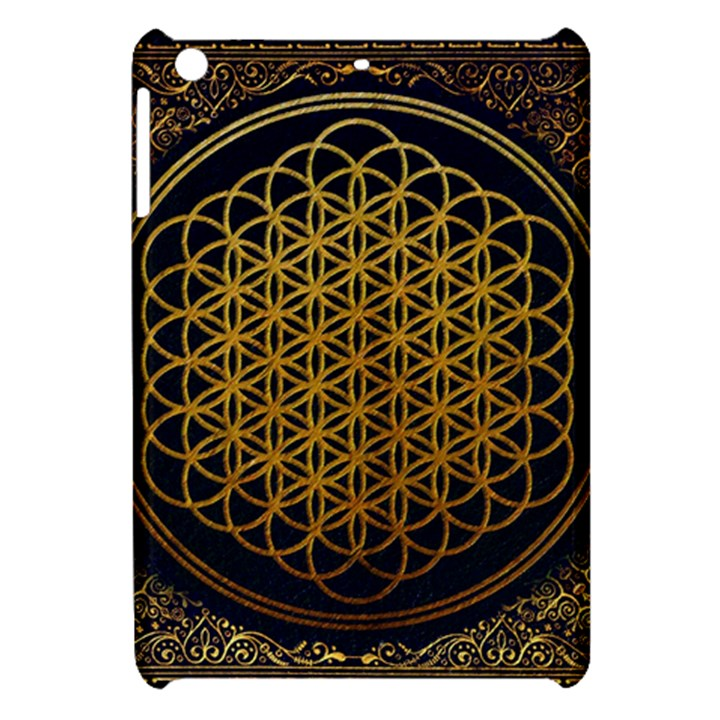 Bring Me The Horizon Cover Album Gold Apple iPad Mini Hardshell Case