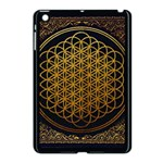 Bring Me The Horizon Cover Album Gold Apple iPad Mini Case (Black) Front