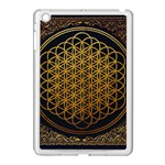 Bring Me The Horizon Cover Album Gold Apple iPad Mini Case (White) Front