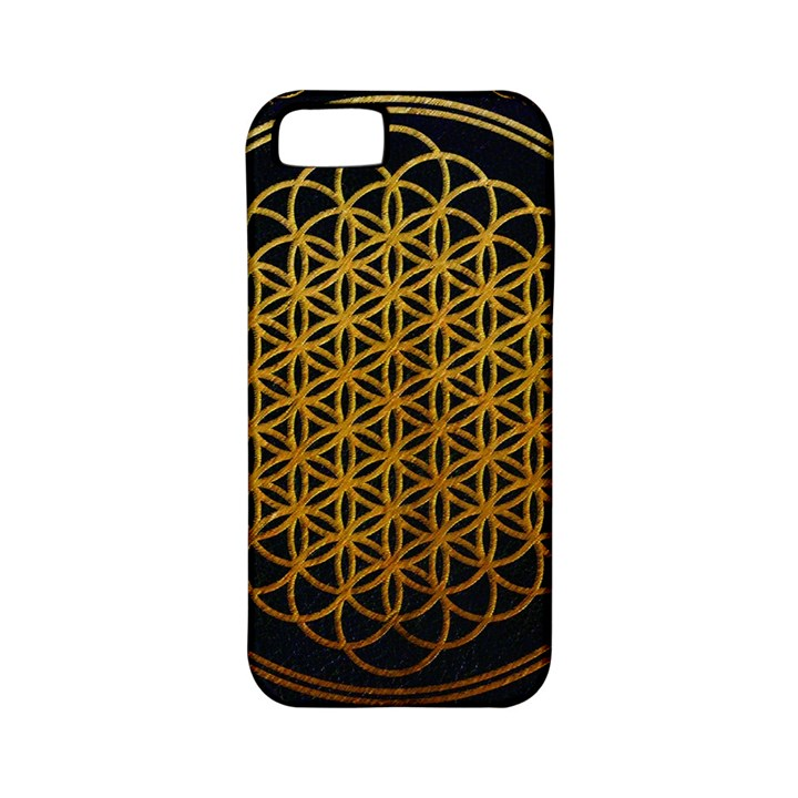 Bring Me The Horizon Cover Album Gold Apple iPhone 5 Classic Hardshell Case (PC+Silicone)