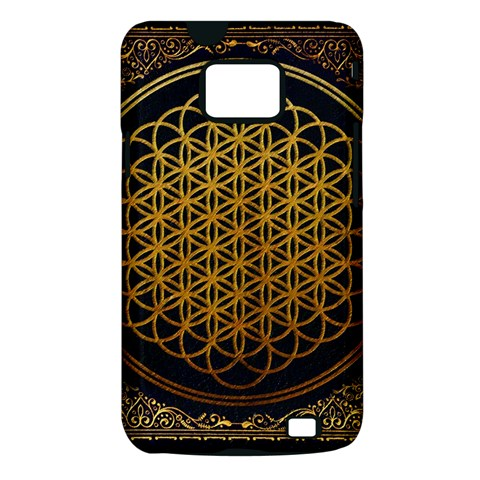 Bring Me The Horizon Cover Album Gold Samsung Galaxy S II i9100 Hardshell Case (PC+Silicone)