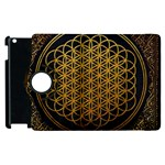 Bring Me The Horizon Cover Album Gold Apple iPad 2 Flip 360 Case Front