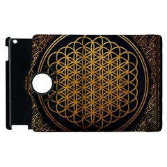 Bring Me The Horizon Cover Album Gold Apple iPad 3/4 Flip 360 Case