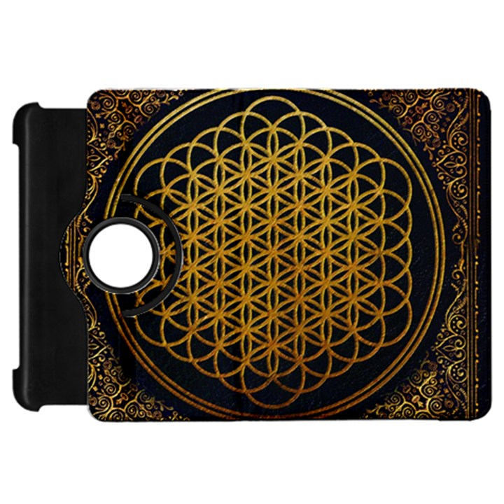 Bring Me The Horizon Cover Album Gold Kindle Fire HD Flip 360 Case